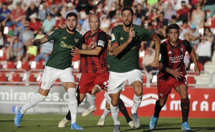 Mirandés-Athletic, en imágenes