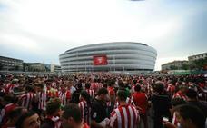 La Liga instala una 'fan zone' en el exterior de San Mamés