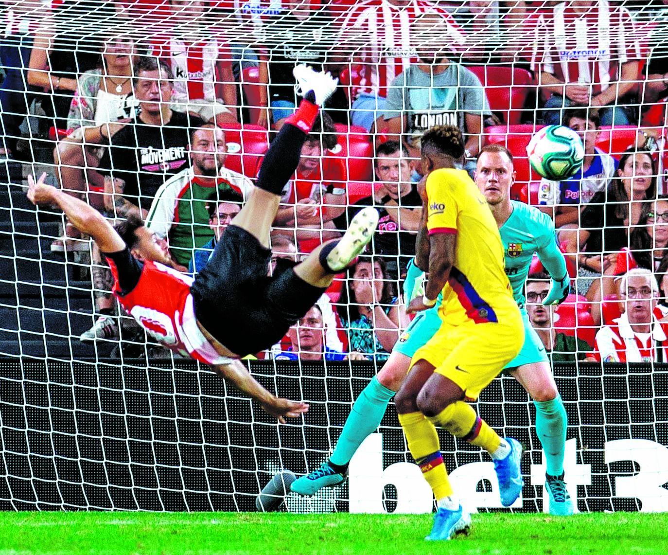 El Athletic-Barcelona, en imágenes