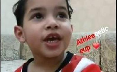 El hijo del saudí que se emocionó en su visita a San Mamés también es hincha del Athletic