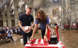El Athletic promete «compromiso y trabajo para volver con algún trofeo»