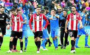 El test del Getafe mide la talla del Athletic