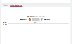 Mallorca - Athletic 2019: horario y TV