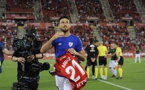 Ovación para Aduriz, un futbolista «inolvidable»
