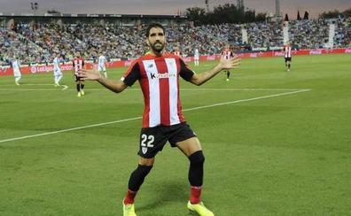 Tercer penalti consecutivo en favor del Athletic y dos goles de Raúl García