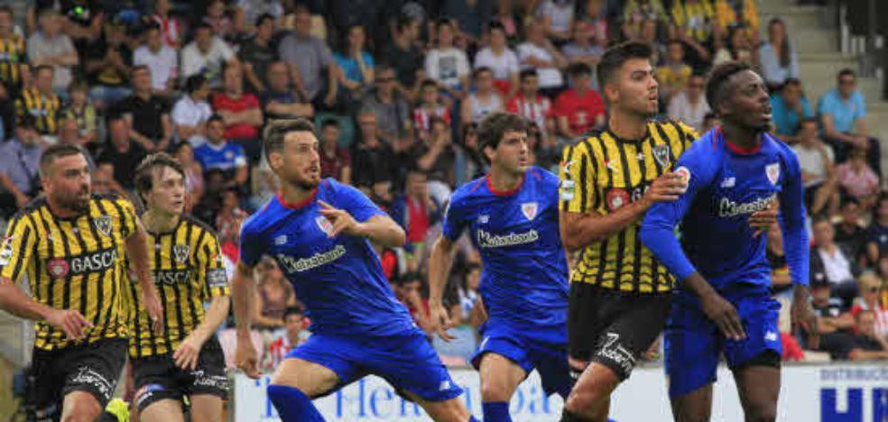 Athletic y Alavés jugarán un triangular con el Barakaldo para ayudar al equipo gualdinegro