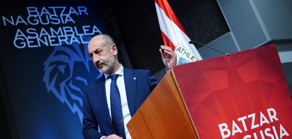 Elizegi: «Compagino mi apoyo a la Euro en Bilbao con el que doy a la oficialidad de la selección vasca»
