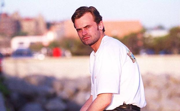 Edu Alonso, en una foto del año 2000.