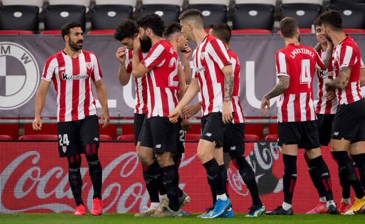 Las mejores imágenes del Athletic-Osasuna