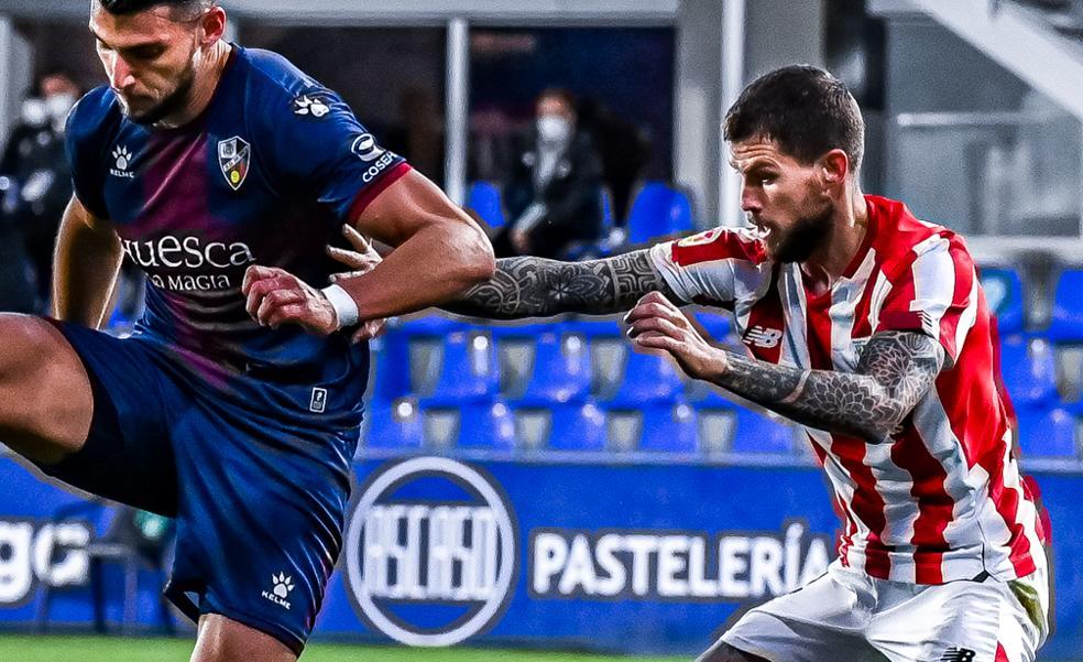 El uno a uno del Huesca - Athletic: Iñigo Martínez, el mejor