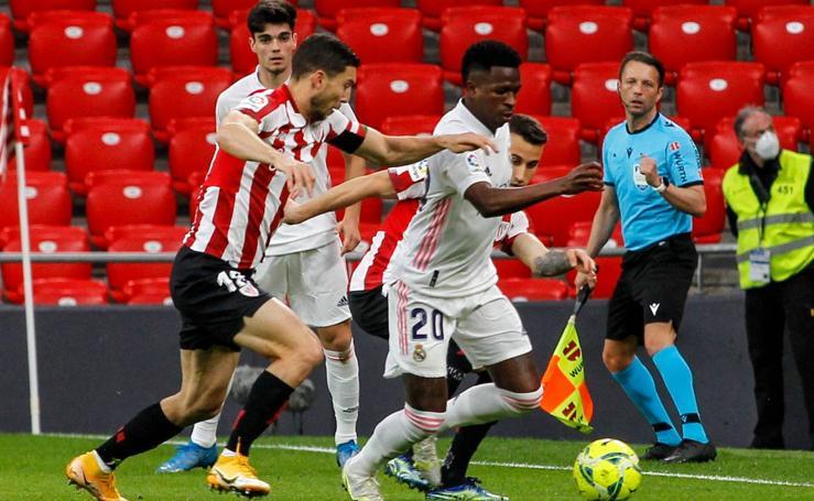 Las mejores imágenes del partido entre en Athletic y el Valencia