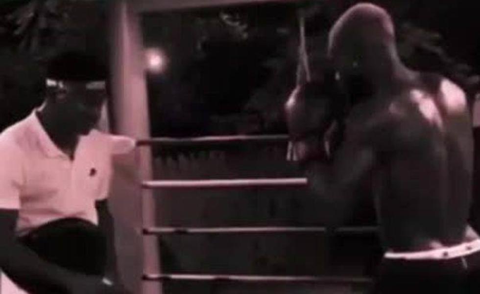 Iñaki Williams se pasa al boxeo durante sus vacaciones