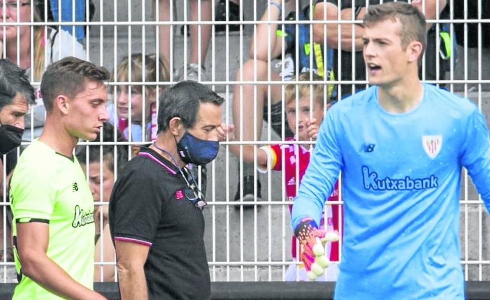 «Agirrezabala puede ser perfectamente titular ante el Elche en Liga»