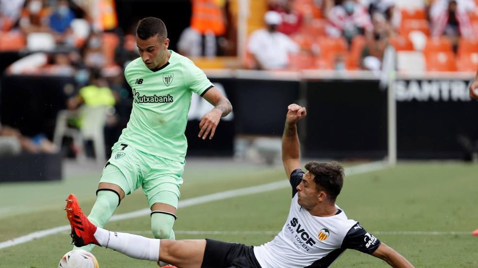 Valencia-Athletic, en imágenes