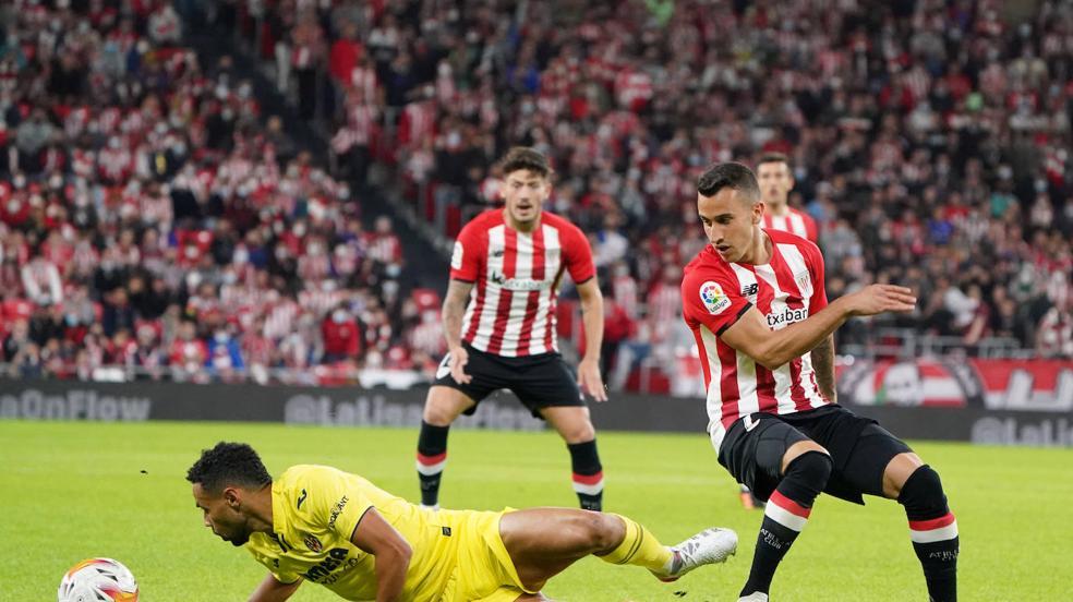 Las mejores imágenes del Athletic-Villarreal