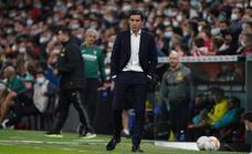 Marcelino: «El VAR hace más justo al fútbol»