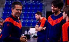 «Hay una gran capacidad de mejora en el juego en equipo», apunta Pedro Martínez