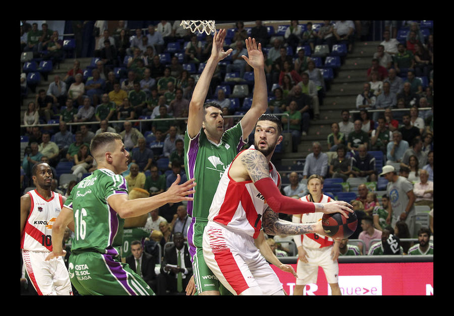 Así ha sido el partido entre el Unicaja y el Baskonia