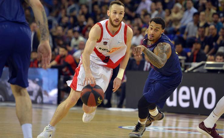 Fotos del Barcelona - Baskonia de semifinal de la Liga ACB