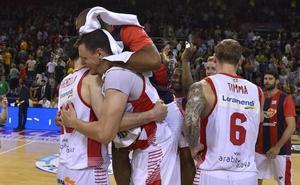 El Baskonia alcanza su octava final de Liga ACB ocho años después