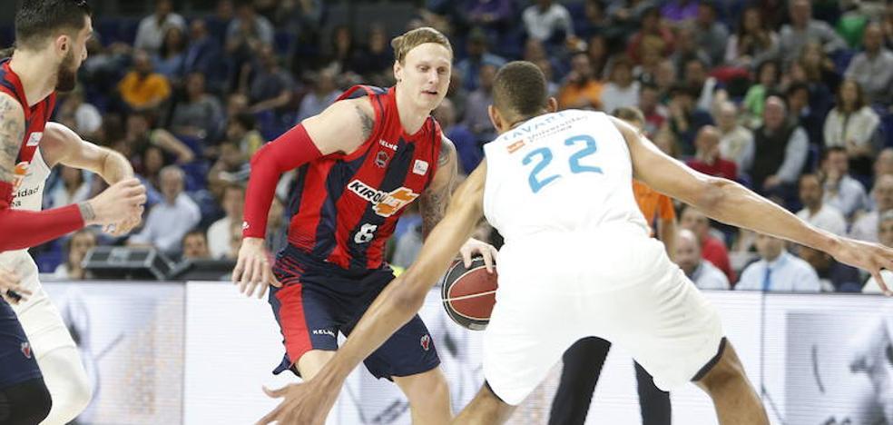 Los horarios de la final de la ACB entre el Real Madrid y el Baskonia