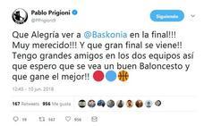 Las redes sociales se vuelcan con el Baskonia