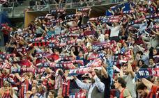 Histórico récord de asistencia en el Buesa Arena