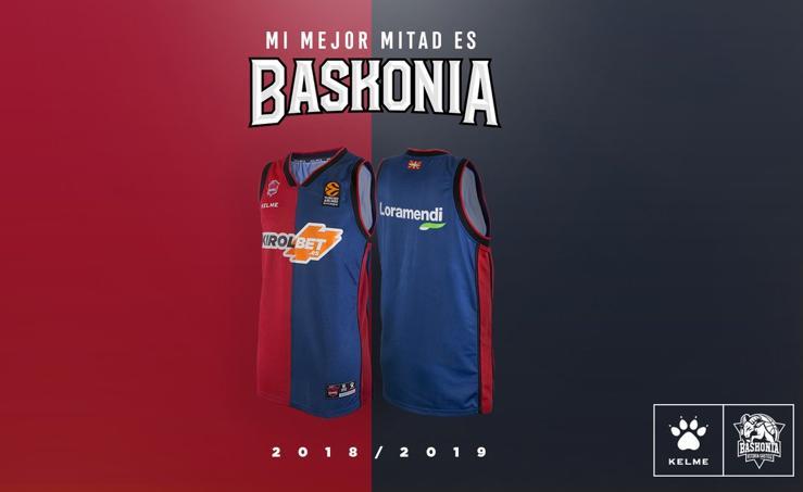 El Baskonia presenta sus uniformes para conquistar 'su' Final Four