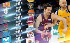 El Baskonia comenzará la Liga ACB el sábado 29 frente el Tecnyconta Zaragoza