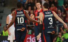 Fechas y horarios del Baskonia para la primera vuelta de la Liga ACB