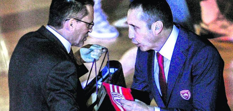 Martínez: «El Olympiacos ha castigado muy bien nuestras dudas»