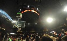 El Buesa Arena estrena un LED circular para su videomarcador