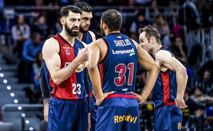 Las mejores imágenes del Baskonia - Valencia Basket