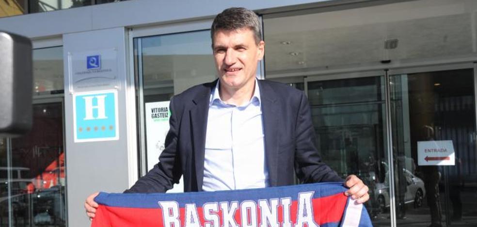 Perasovic llega a Vitoria para remontar el vuelo