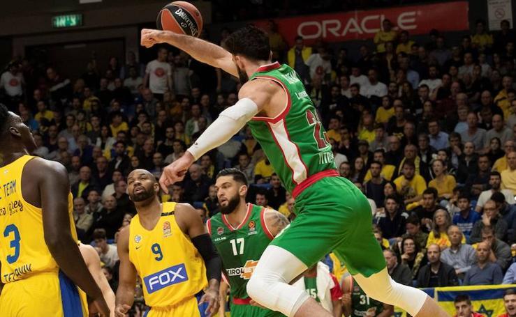 Las fotos del Maccabi - Baskonia