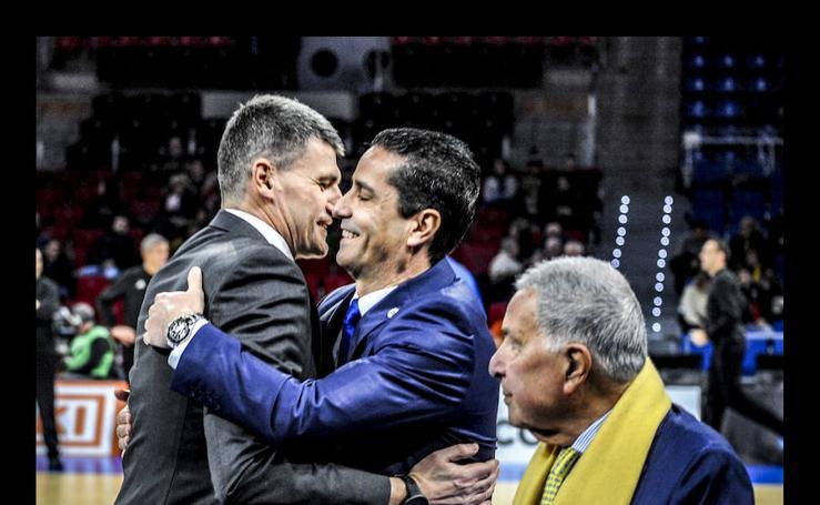 Las mejores imágenes del Baskonia - Maccabi de la Euroliga