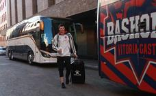 Los jugadores regresan a Vitoria