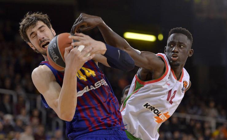 Las fotos del Barcelona - Baskonia de Euroliga