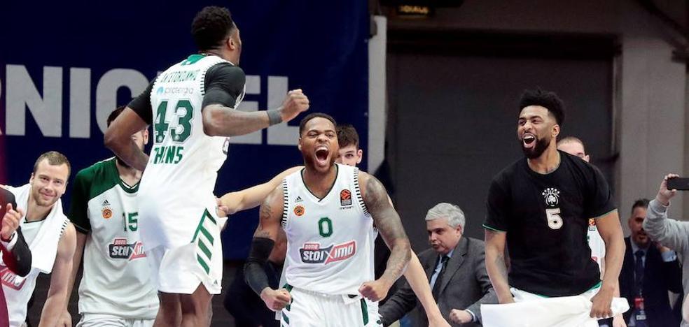 El Panathinaikos recibirá al Baskonia tras 'descansar' contra el Olympiacos