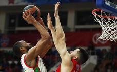 El Baskonia iniciará el Top 8 de la Euroliga el día 16 en Moscú