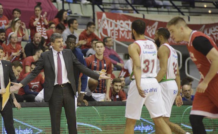 Las mejores imágenes del UCAM Murcia - Kirolbet Baskonia