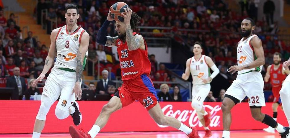 El uno a uno del Baskonia ante el CSKA