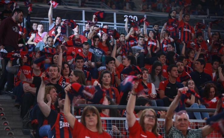 Las mejores imágenes del Baskonia - CSKA de la Euroliga