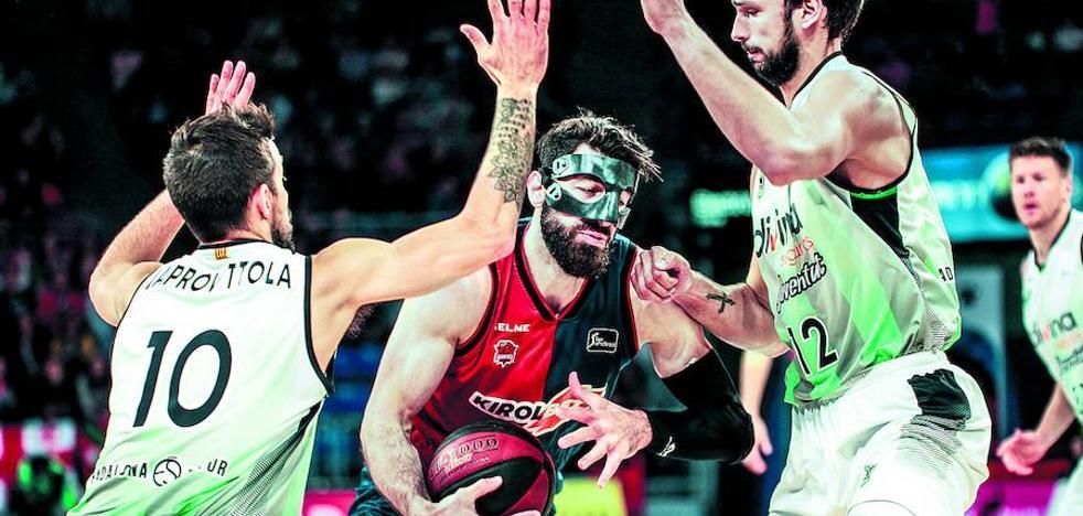 El Baskonia empezará el play off el día 30 a las 20.15 horas