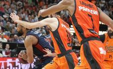 Las mejores imágenes del Valencia Basket - Baskonia