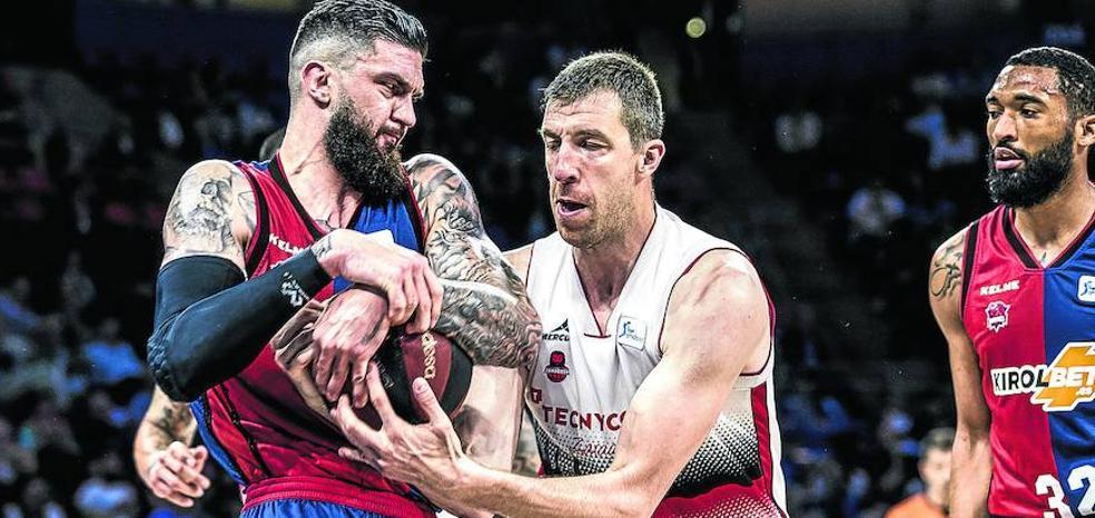 El Baskonia no perdía un primer partido de cuartos como local desde 1999