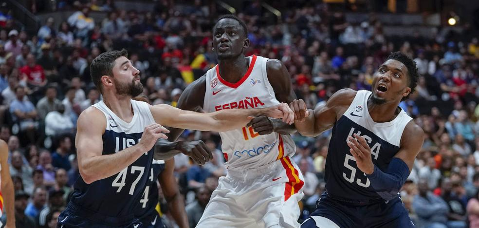 Diop, descartado para disputar el Mundial de China con la selección española