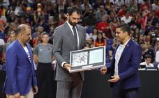 El baloncesto rinde tributo en Madrid al legendario 'Chicho' Sibilio