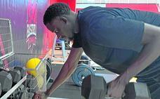 Diop: «Voy a jugar de 'cuatro'. Ya lo intenté y no lo hice mal»