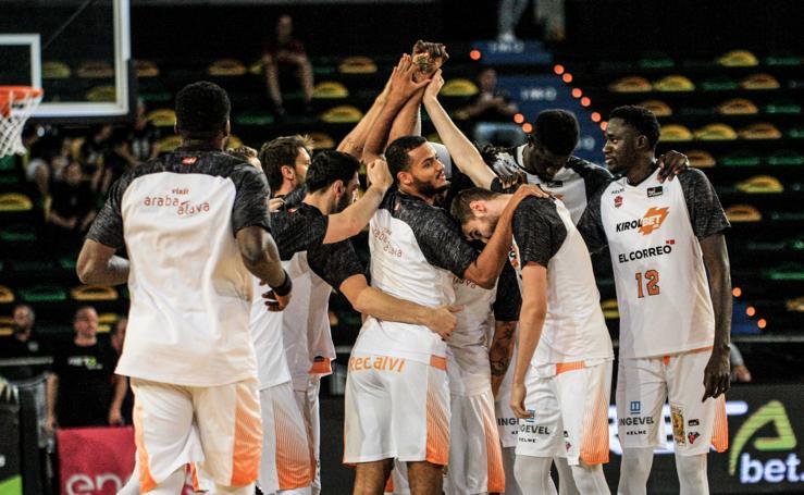 Las mejores imágenes del Bilbao Basket-Baskonia